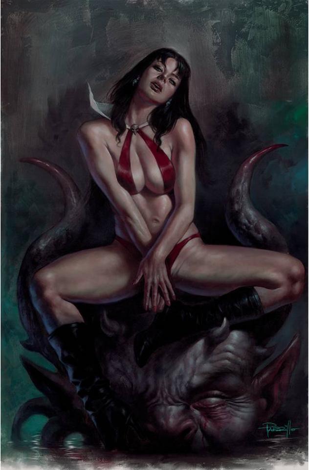Vampirella #20 (Parrillo Virgin Cover)