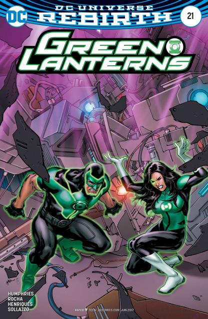 Green Lanterns #21 (Variant Cover)