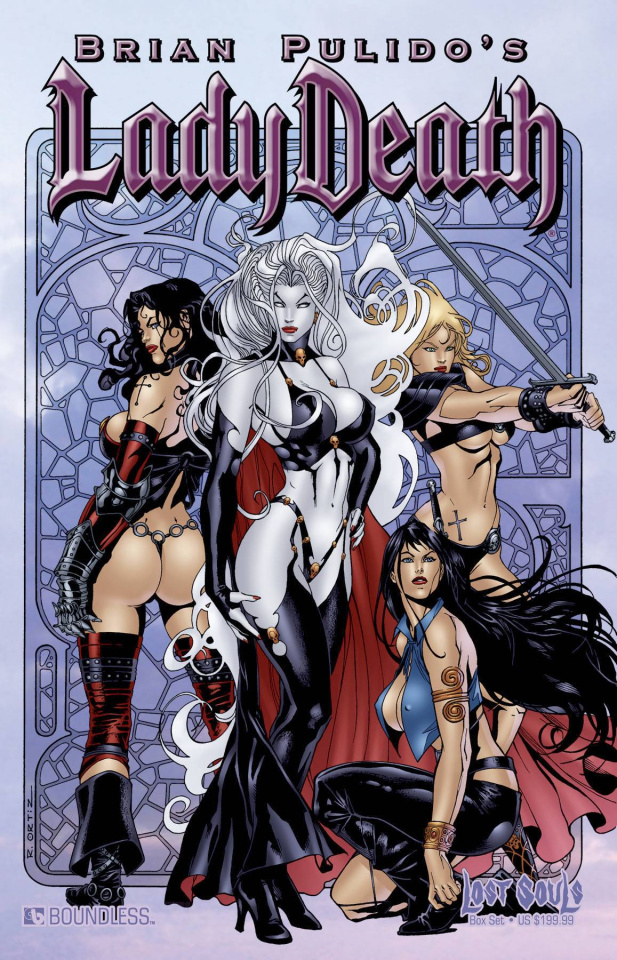 Lady Death: Lost Souls Deluxe Collectors Box
