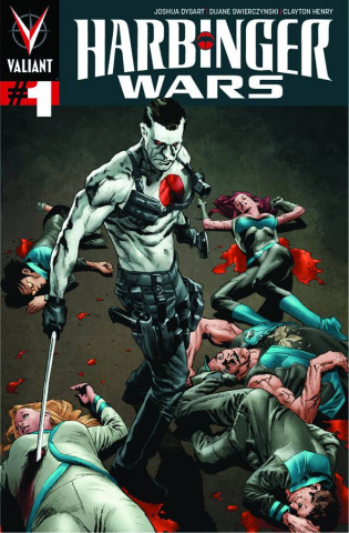 Harbinger Wars #1 (Larosa Cover)