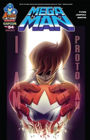 Mega Man #54 (McCarthy Cover)