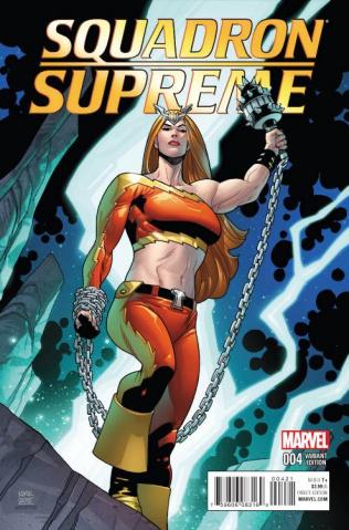Squadron Supreme #4 (Kirk Cover)