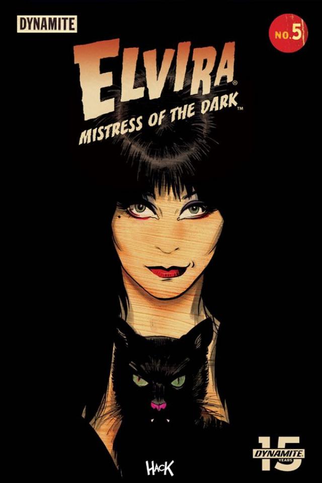 Elvira: Mistress of the Dark #5 (Hack Cover)