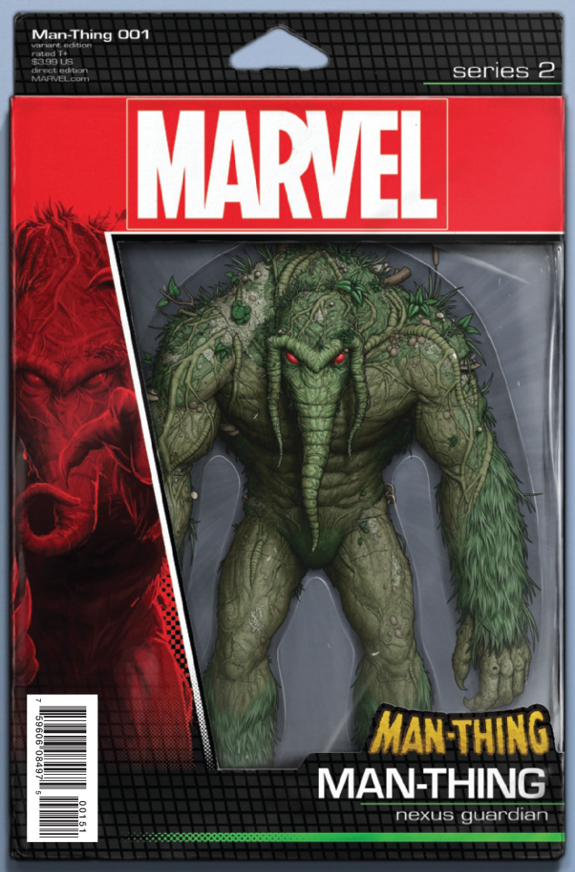 Man-Thing #1 (Christopher Action Figure Cover)