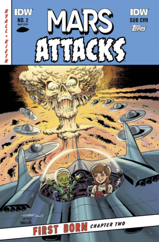 Mars Attacks First Born #2 (Subscription Cover)