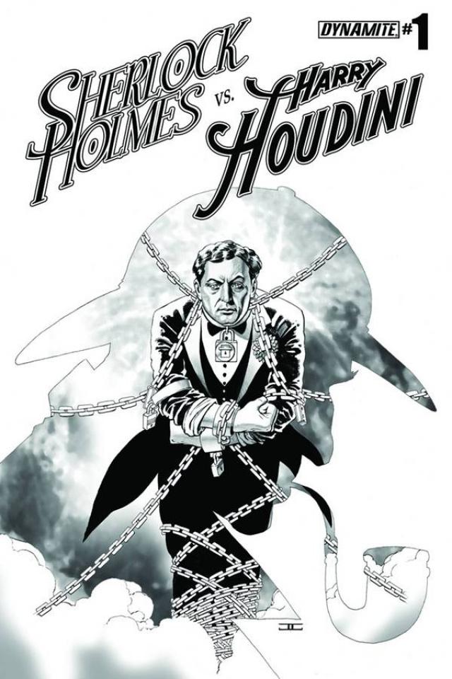 Sherlock Holmes vs. Harry Houdini #1 (10 Copy Cassaday Cover)