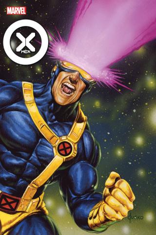 X-Men #4 (Jusko Marvel Masterpieces Cover)