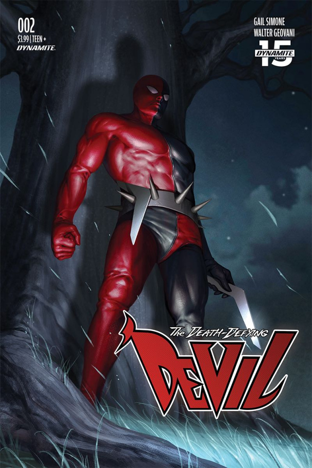 The Death-Defying Devil #2 (Lee Cover)