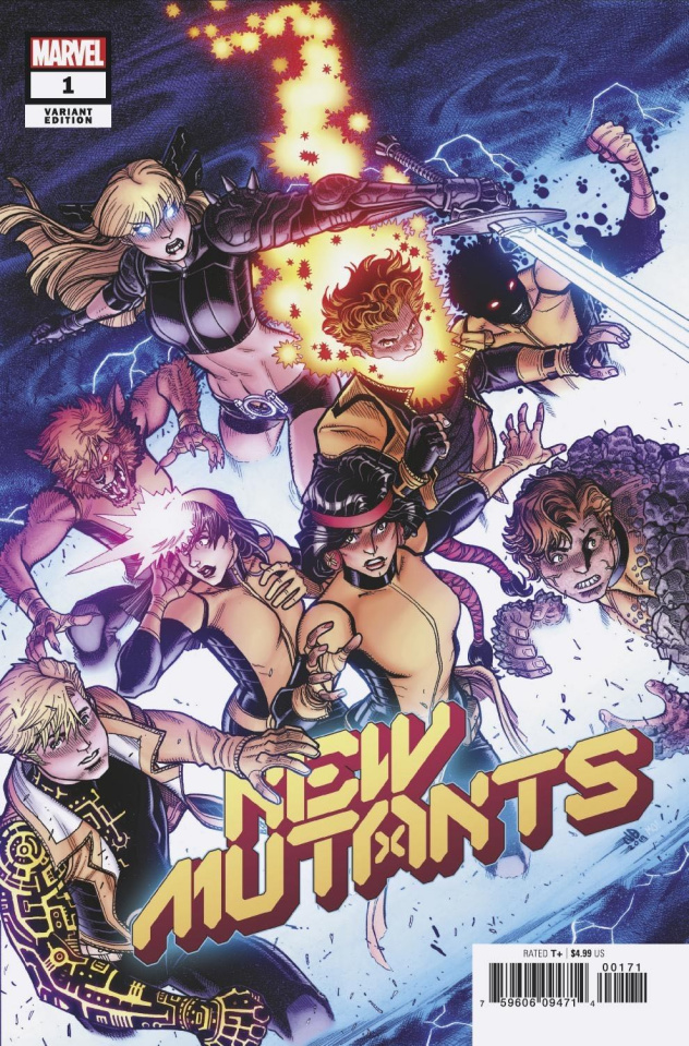 New Mutants #1 (Bradshaw Cover)