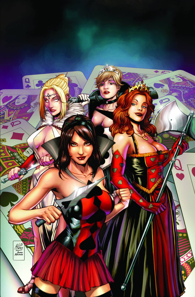 Grimm Fairy Tales: Wonderland - Clash of Queens #1 (Spay Cover)