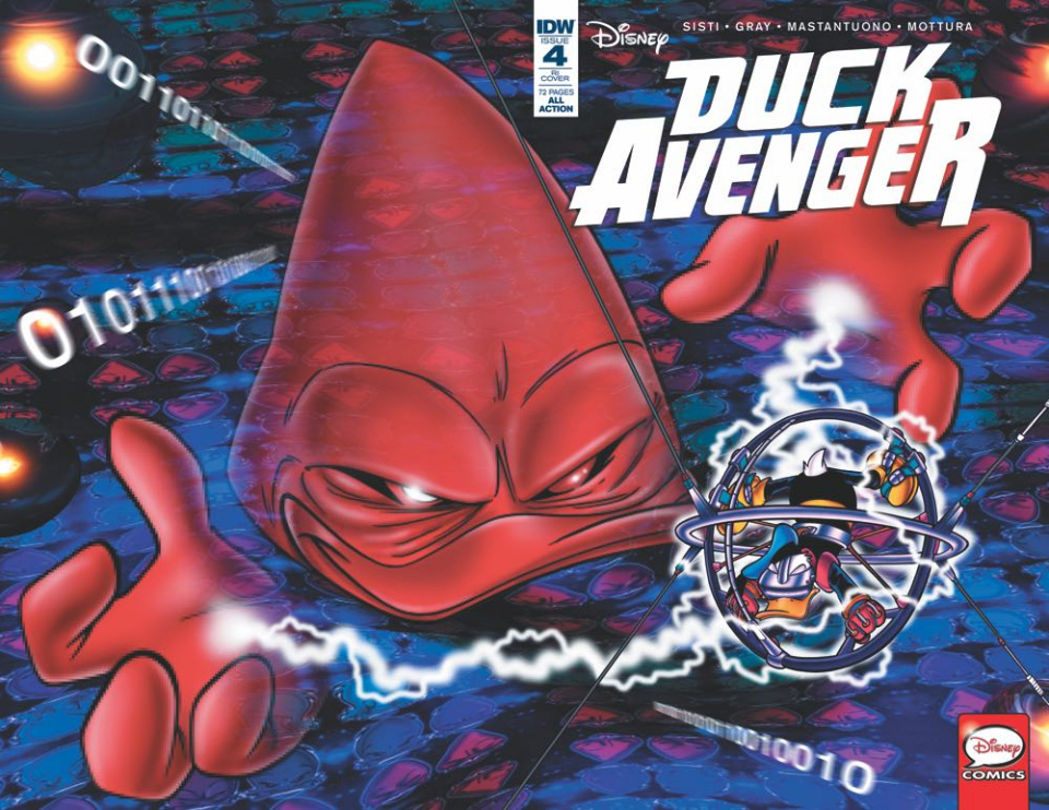Duck Avenger #4 (10 Copy Cover)