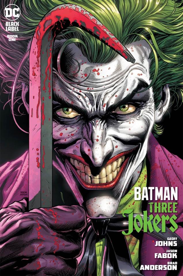 Batman: Three Jokers #1 (Jason Fabok Joker Cover)