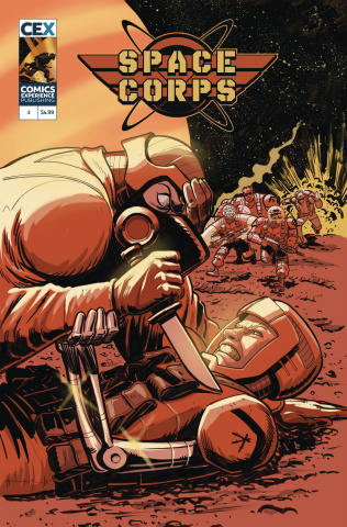 Space Corps #3 (Beck Cover)