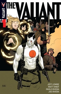 The Valiant #1 (Rivera Cover)