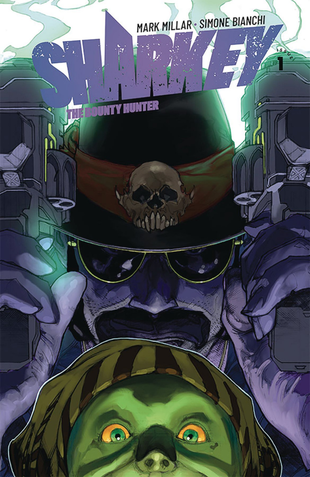 Sharkey, The Bounty Hunter #1 (Bianchi Cover)
