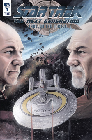 Star Trek: The Next Generation - Through the Mirror #1 (Woodward Cover)