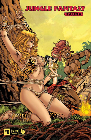 Jungle Fantasy: Fauna #0 (Homage Cover)