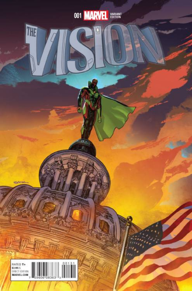 The Vision #1 (Sook Cover)