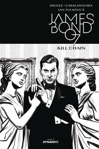 James Bond: Kill Chain #3 (10 Copy B&W Cover)