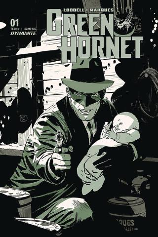 Green Hornet #1 (Weeks Cover)