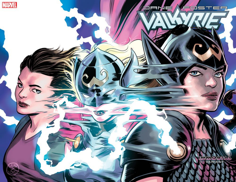 Jane Foster: Valkyrie #3 (Lopez Immortal Wraparound Cover)