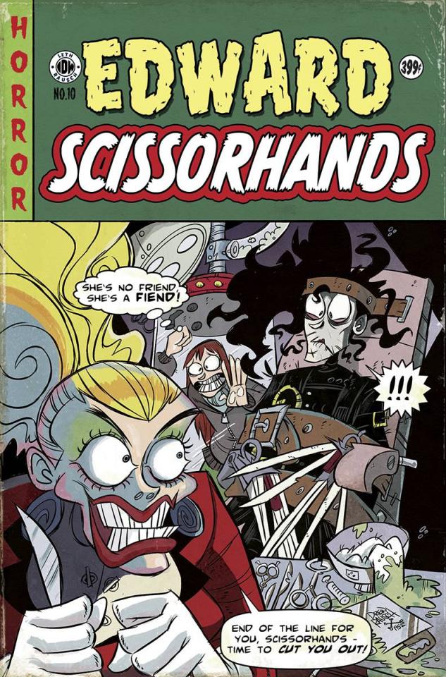 Edward Scissorhands #10 (EC Subscription Cover)