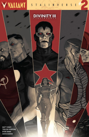 Divinity III: Stalinverse #2 (Djurdjevic Cover)