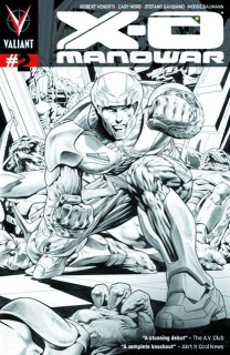 X-O Manowar #2 (2nd Printing)