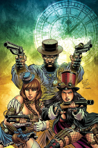 Grimm Fairy Tales: Steampunk #2 (Rei Cover)