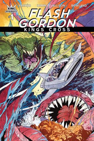 Flash Gordon: Kings Cross #1 (Laming Cover)