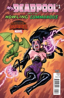 Mrs. Deadpool and the Howling Commandos #1 (Warren Cover)