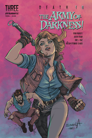 Death to the Army of Darkness #3 (Davila Cover)