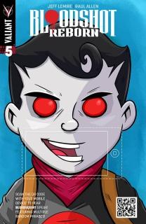 Bloodshot: Reborn #5 (QR Voice Fabares Cover)