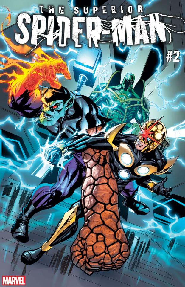 The Superior Spider-Man #2 (McKone GotG Cover)