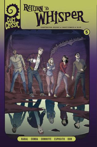 Cult Classic: Return to Whisper #5 (Koh Cover)