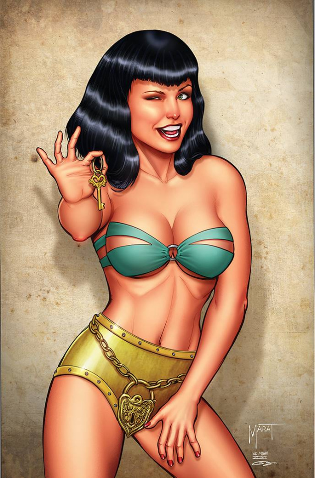 Bettie Page and The Curse of the Banshee #2 (Mychaels Virgin Cover)