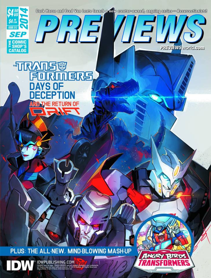 Previews #312 (September 2014)