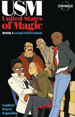 United States of Magic Book 1: Grand Theft Global