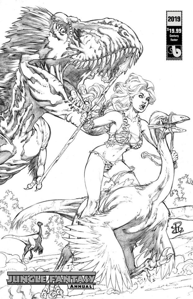 Jungle Fantasy Annual 2019 (Century Faster Cover)