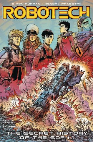 Robotech #14 (Stokoe Cover)