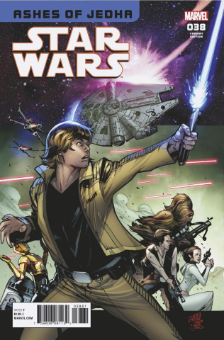 Star Wars #38 (Larraz Homage Cover)