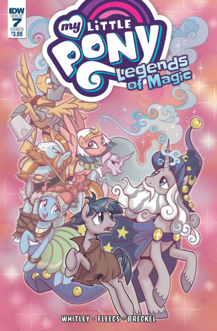 My Little Pony: Legends of Magic #7 (Hickey Cover)