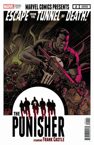 The War of the Realms: The Punisher #2 (Johnson Cover)
