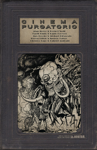 Cinema Purgatorio #4 (Ancient Tome Premium Cover)