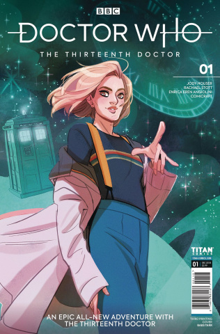 Doctor Who: The Thirteenth Doctor #1 (3rd Printing)