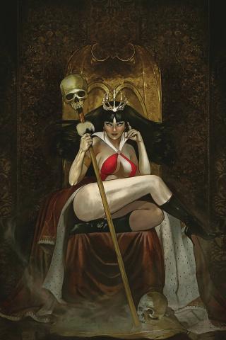 Vampirella #10 (Dalton Virgin Cover)