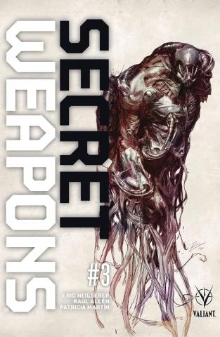 Secret Weapons #3 (20 Copy La Torre Cover)