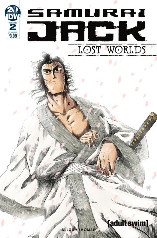 Samurai Jack: Lost Worlds #2 (Thomas Cover)