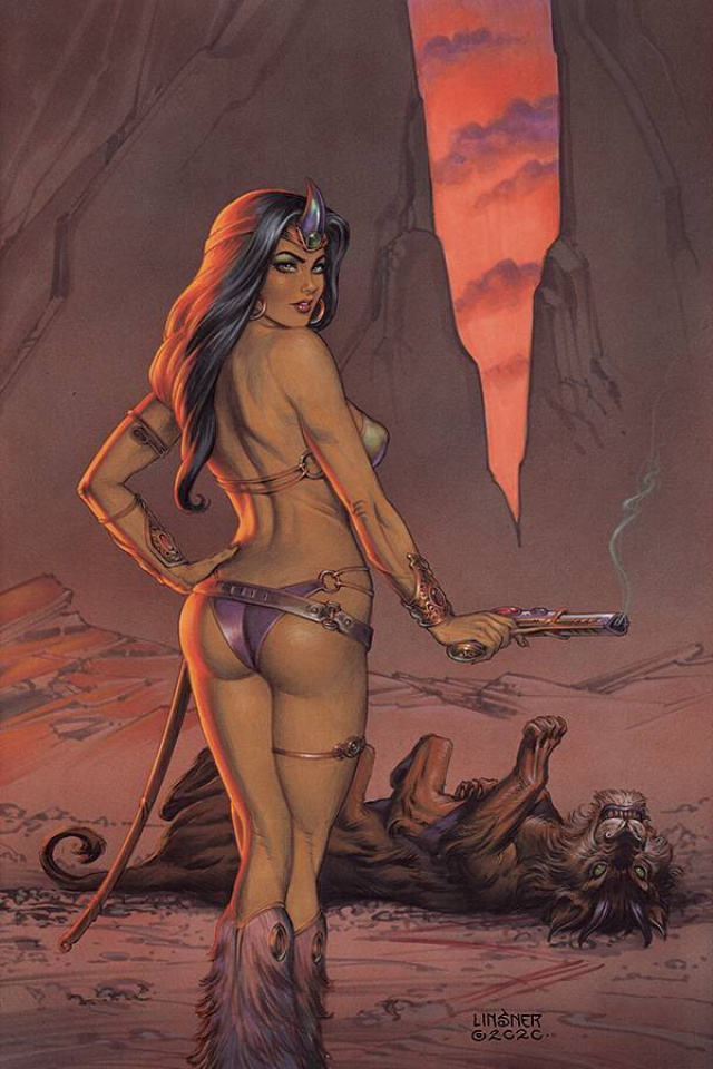 Dejah Thoris #11 (Linsner Virgin Cover)