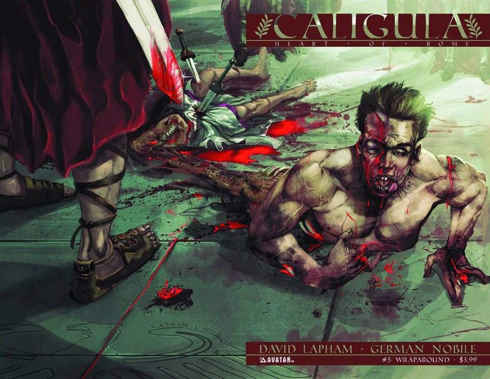 Caligula: Heart of Rome #5 (Wrap Cover)
